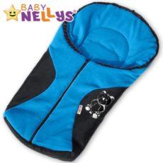 BABY NELLYS – Fusák nejen do autosedačky ® POLAR – modrý medvídek