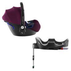 BRITAX RÖMER Autosedačka Baby-Safe 2 i-Size Bundle Flex (0-13 kg) – Burgundy Red