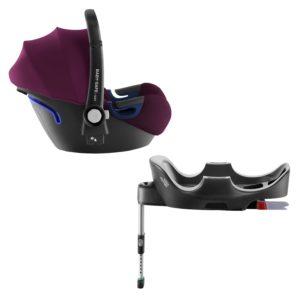 BRITAX RÖMER Autosedačka Baby-Safe 2 i-Size Bundle Flex (0-13 kg) - Burgundy Red