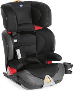 CHICCO Autosedačka Oasys 2-3 FixPlus Evo (15-36 kg) - Jet Black