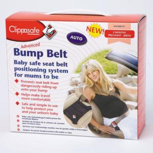 CLIPPASAFE - Bezpečnostní pás do auta pro těhotné
