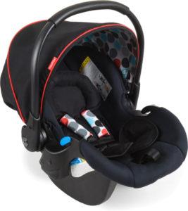HAUCK Fisher Price Autosedačka Comfort Fix (0-13 kg) - Gumball black