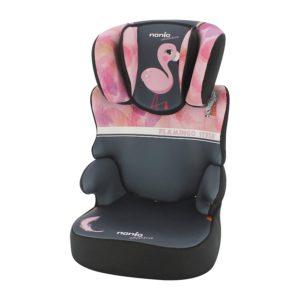 NANIA Autosedačka Befix Adventure Flamingo 15-36 kg 2020
