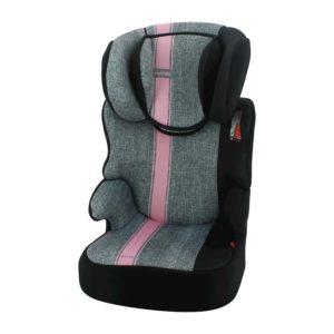 NANIA Autosedačka Befix First Linea Grey Pink 15-36 kg 2020