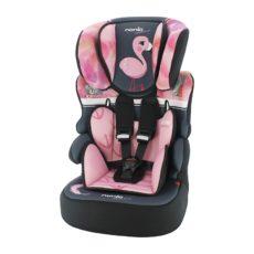 NANIA Autosedačka Beline Adventure Flamingo 9-36 kg 2020