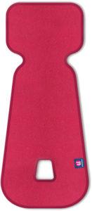 PETITE&MARS Vložka do autosedačky 3D Aero růžová 0-13 kg