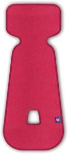 PETITE&MARS Vložka do autosedačky 3D Aero růžová 9-18 kg