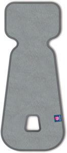 PETITE&MARS Vložka do autosedačky 3D Aero sv.šedá 0-13 kg