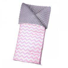 T-TOMI Fusak, pink zig-zag