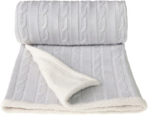 T-TOMI Pletená deka WINTER