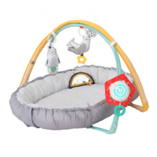 TAF TOYS Hrací deka & hnízdo s hudbou pro novorozence